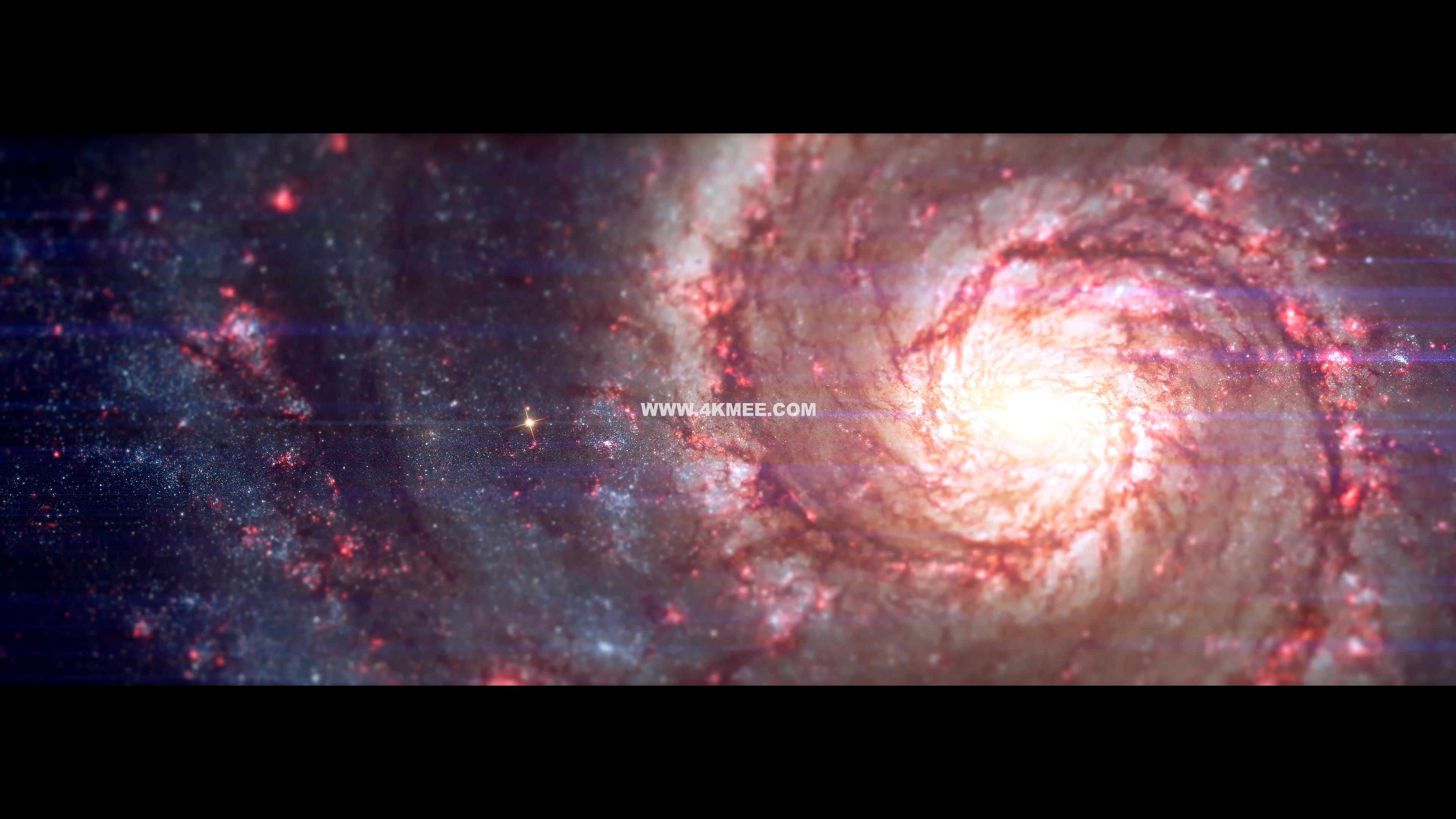 4k视频-银河系之舞